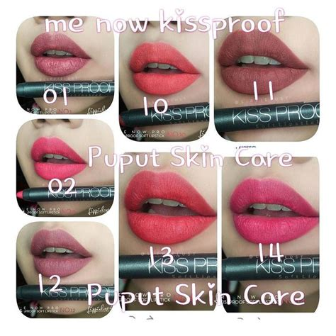 Kissproof Lipstick By Menow No 13 13 best lipsticks images on lipstick