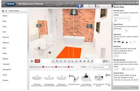 easy   bathroom planner lets  design
