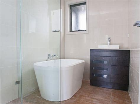 tub shower ideas for small bathrooms modern bathroom design with freestanding bath using