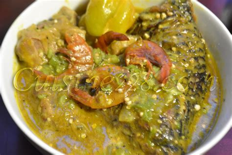 Www Cuisine Ivoirienne by Sauce De Gombo Okra Soup Cuisine Togolaise