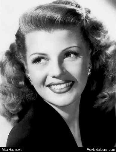 hairstyles of actresses in their 40s classical actresses the 40s rita hayworth