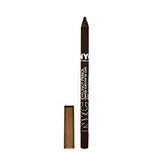 New Ql Eyeliner Spidol n y c new york color proof 24 hr wp eyeliner brown 0 042 ounce