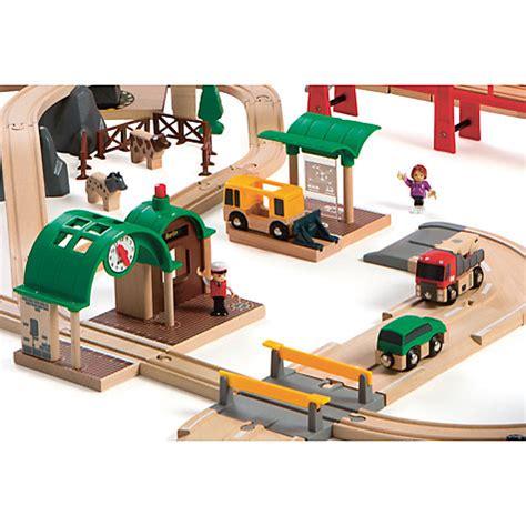 brio deluxe railway buy brio railway world deluxe set john lewis