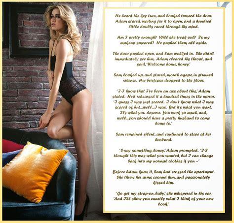 complete femininization of husband gender role reversal caption the husband you deserve