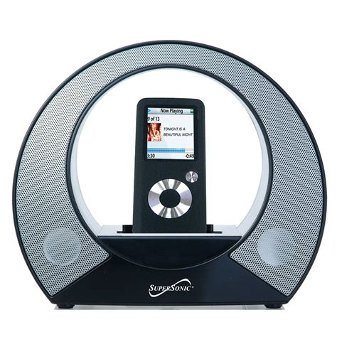 Speaker Mp3 portable mp3 player speakers supersonic inc sc 8sp portable mp3 speaker with auxiliary