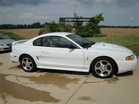 1997 ford mustang svt cobra coupe 2 door 4 6l