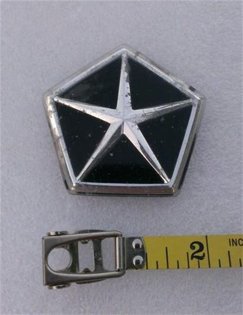 chrysler pentastar emblem purchase emblem kit gold acura 2 3 cl trunk lid