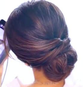 2 minute elegant bun hairstyle totally easy hair tutorial easy 2 minute elegant bun updo hairstyle tutorial easy