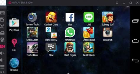 emulators for android free koplayer android emulator for pc windows 10 8 8 1 7 mac guide apps for windows 10