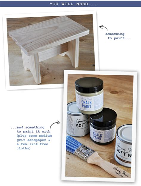chalk paint at bunnings the painted hive chalk paint tutorial distressed