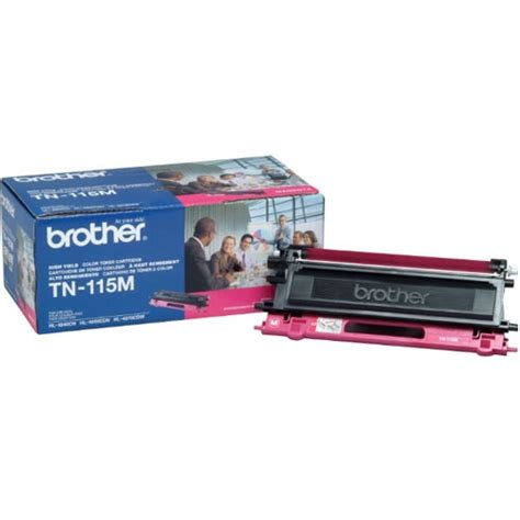 brother tn 115m magenta toner cartridge by office depot brother tn 115m tn115m magenta toner cartridge oem