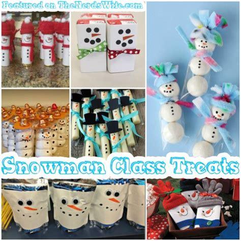 christmas ideas for class 50 winter class treats