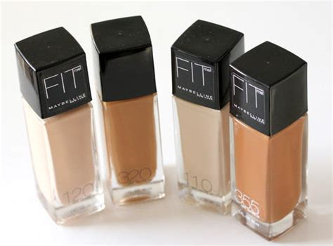 Makeup Maybelline Fit Me Maybelline Fit Me Matte N Poreless Foundation Review