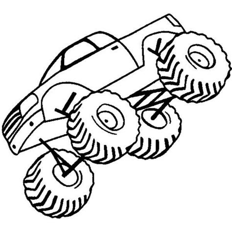 monster jam coloring page bigfoot monster truck coloring