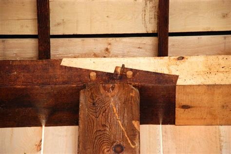 restored beam joints audio video barn