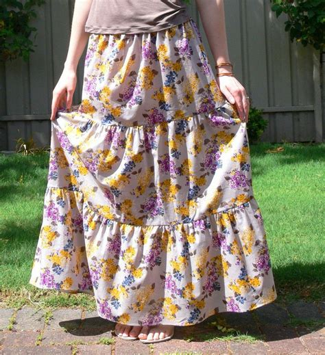 simple no pattern skirt i ve made half a dozen skirts using this no pattern