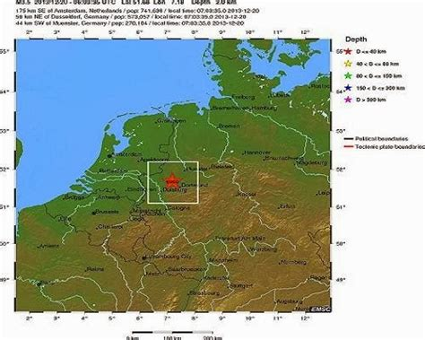 earthquake germany strongest earthquake this year shakes germany recent