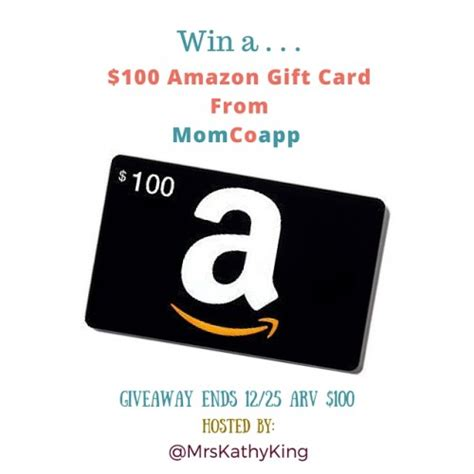 How To Win Giveaways On Amazon - enter to win a 100 amazon gift card giveaways coupon wahm
