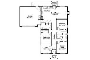Floor Plans Craftsman House Plans 30 480 Associated Designs