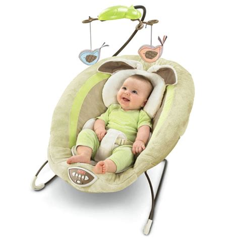 fisher price cuddle bunny swing new fisher price my little snugabunny bouncer baby seat ebay