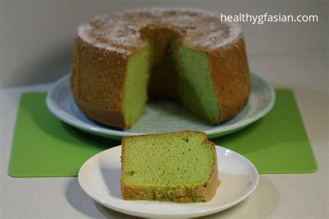 Gluten Free Chiffon Cake 18cm pandan chiffon cake gluten free healthy gf asian