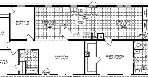 the imperial imp 46019b manufactured home floor plan the imperial imp 46819b manufactured home floor plan