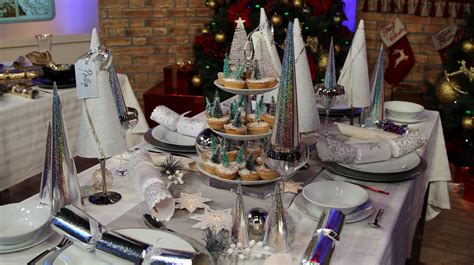 christmas table decorations home garden  morning