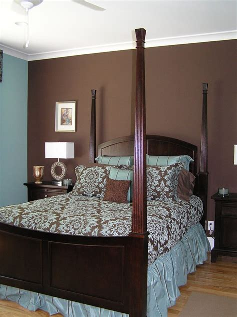 blue and brown decor blue and brown bedrooms home design