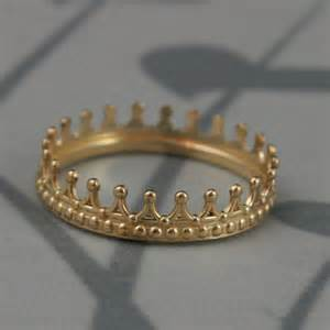 king and wedding rings solid 14k yellow gold crown bandcheck mategold crown