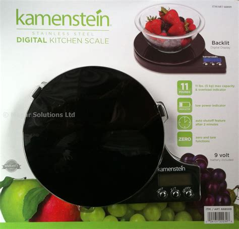 designer kitchen scales kamenstein stainless steel digital designer kitchen scales