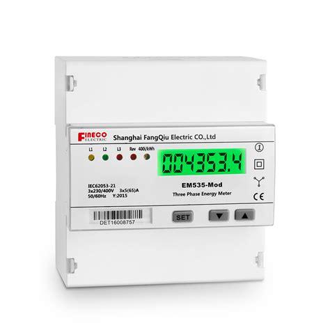 Panel Meter Er Meter Direct Class 25 Type Ft 96 Ft 72 em535 mod 3 230 400v 5 65 a five modular three phase watt hour smart electric meter buy smart