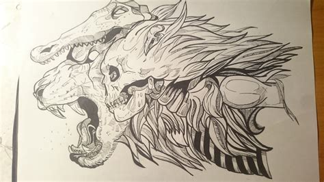 lion skull tattoo 19 skull drawings ideas design trends