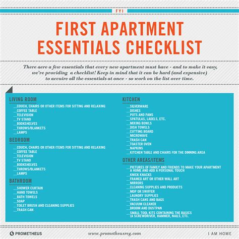 first home essentials checklist essentials for a new home