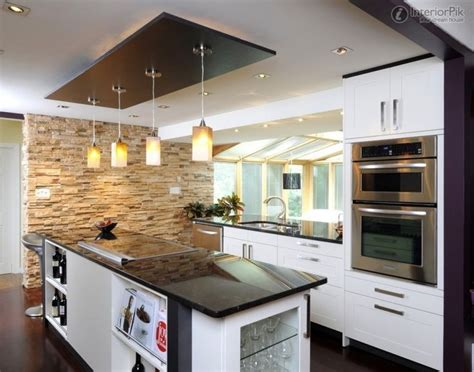 Country Kitchen Designs Photos false ceiling kitchen modern design normabudden com