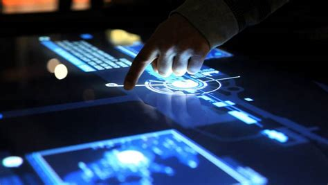 Home Design Expo Melbourne multi touch table screen display interface surface