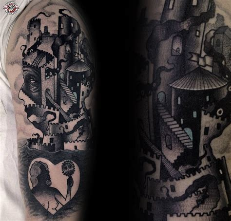 mind bending body art interview with tattoo artist łukasz
