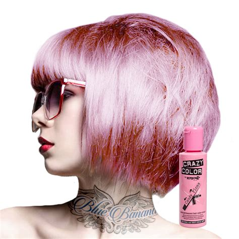 permanent over the counter hair color crazy color semi permanent hair dye cream by renbow 100ml