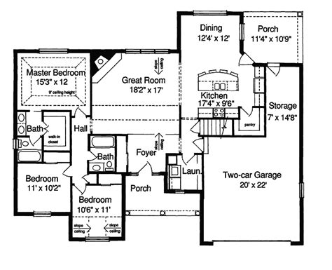 kinsey country home plan 028d 0022 house plans and more hemistone narrow lot ranch home plan 055d 0225 house plans