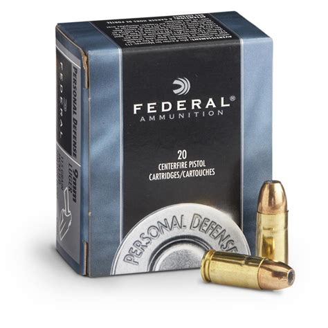 federal personal defense 40 s w 180 grain jhp 20 rounds