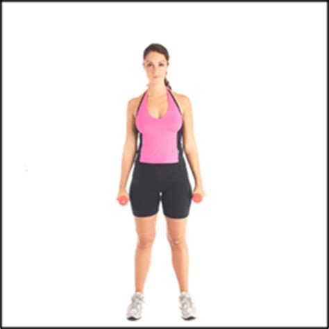 swing your arms from side to side exercise demo dumbbell lateral raises
