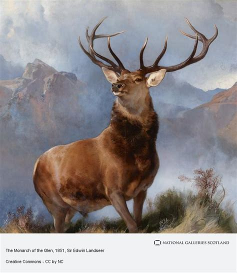 the monarch of the the monarch of the glen national galleries of scotland