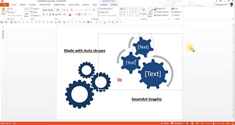 how to create gear diagrams in powerpoint using shapes how to create gear diagrams in powerpoint using shapes