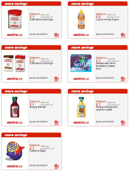 printable grocery coupons quebec metro quebec printable store coupons march 12 to 18