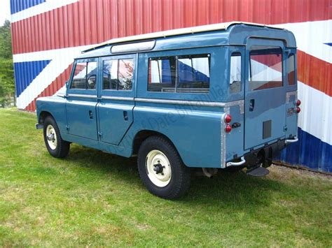land rover safari 1966 land rover safari station wagon dare britannia ltd