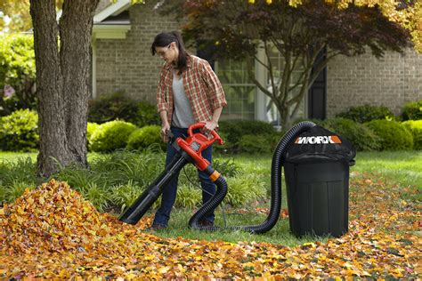 New Worx Trivac Blower Mulcher Vac Features Electronic