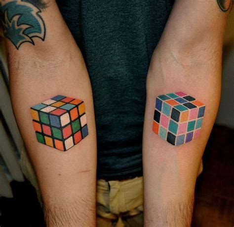 geometric tattoo cube 40 flawless geometric tattoos tattoodo