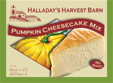 The Harvest Mix Fruit Cheesecake Portion pumpkin cheesecake mixes halladays