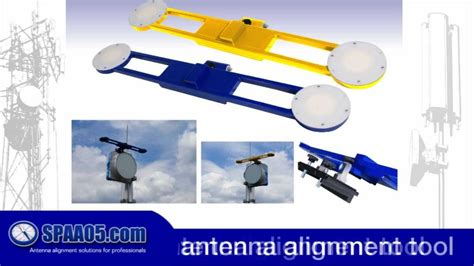spaa05 los microwave dish antenna alignment tool