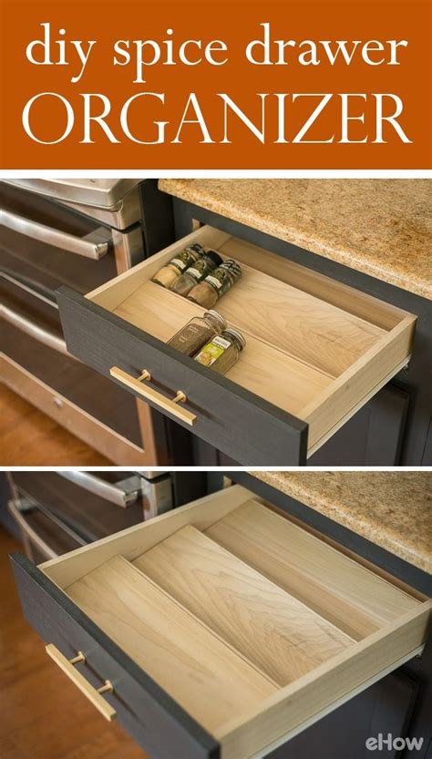 how to make a spice drawer organizer spice drawer much
