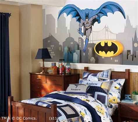 modern batman bedroom decor theme ideas for